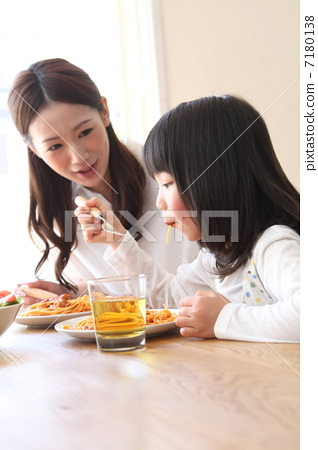 Cute parent-child image 7180138