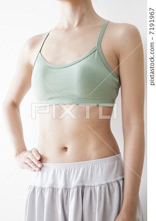 Women's stomach 7191967