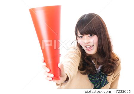 School girl high school student image 7233625