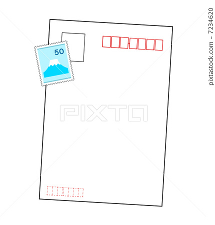 Postcards and stamps 7234620