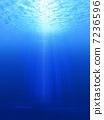 水生的 水下 在水中 7236596
