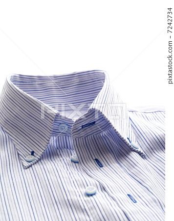 Blue striped shirt 7242734