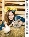 兔子 兔 野兔 7248844