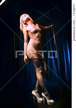 Pole Dance Woman 7248857