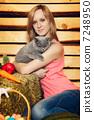 動物 女人 女性 7248950