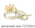 訂婚戒指 婚戒 戒指 7272501
