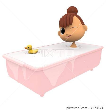 목욕 7273171