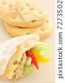 샌드위치 빵 포카 치아 7273502