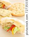 샌드위치 빵 포카 치아 7273503
