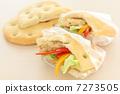 샌드위치 빵 포카 치아 7273505
