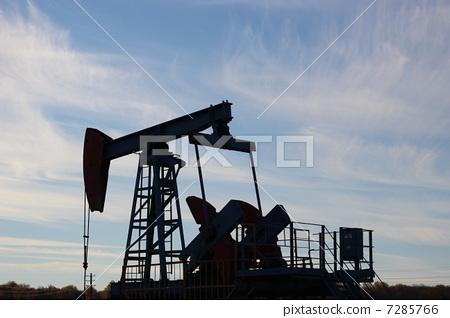 Oil production. oil pumps Russia 7285766