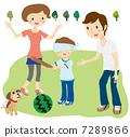 西瓜分裂父母和孩子 7289866