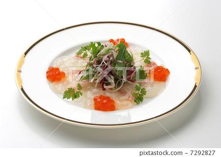 法式料理西餐hors d'Oeuvres開胃菜多少魚類貝類魚類菜餚 7292827