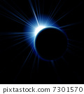 Image of a solar eclipse 7301570