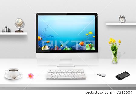 鍵盤 監測 螢幕 7315504