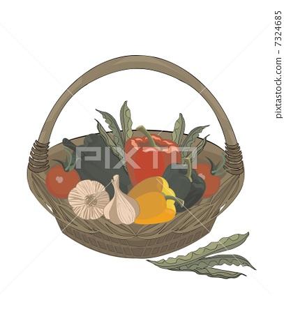 vector vegetables 7324685