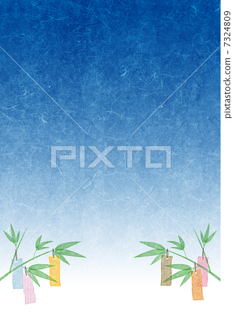 Tanabata decorative background 7324809