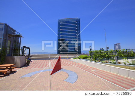 Grand Franc Osaka and sundial 7326880