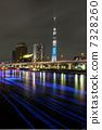 東京ホタルとスカイツリー 7328260