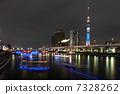 東京ホタルとスカイツリー 7328262