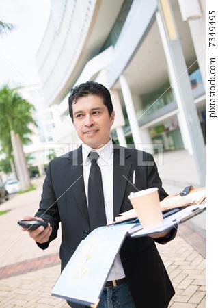 Handsome businessman 7349495