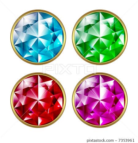 Precious stones 7353961