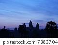 Angkor Wat Silhouette 7383704