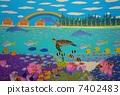 แนวปะการังในนิวแคลิโดเนีย (ภาพวาง) 7402483