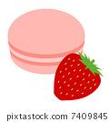 Strawberry Macaroon 7409845