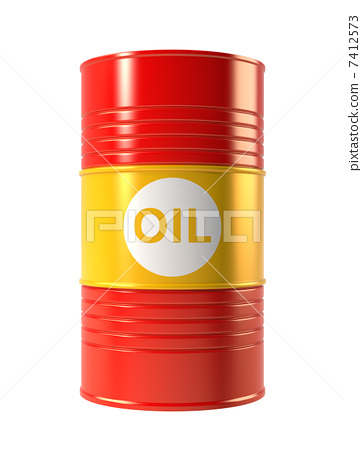 Oil drum can 7412573