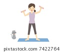 gymnastic, exercise, exercising 7422764