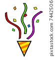 Party cracker 7442506