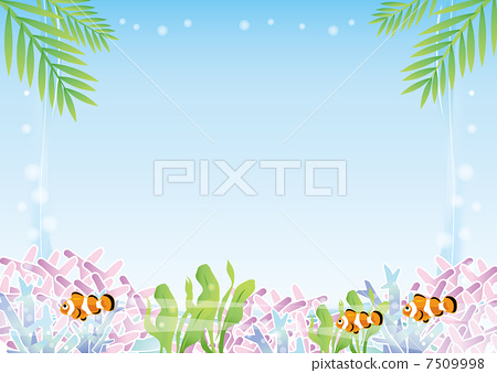 Space with tropical fish 7509998