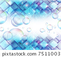 bubble, abstract, froth 7511003