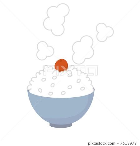 Large bowl of rice 7515978