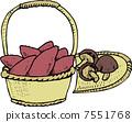 sweet potato, shitake, shiitake mushroom 7551768