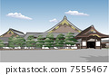 nijo castle, world heritage, world's cultural heritage 7555467