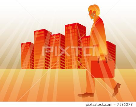 더운 도시 7585078