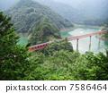 Oigawa鐵路Oku Oi湖頂站風景 7586464