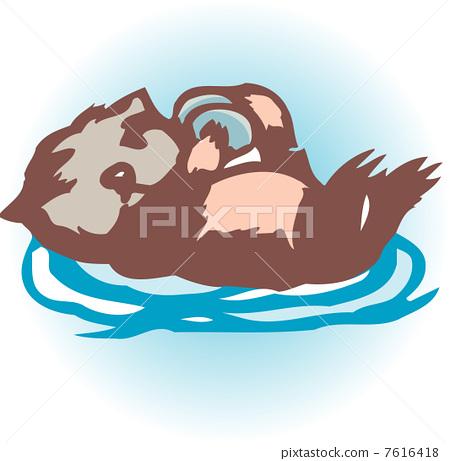 Sea otter 7616418