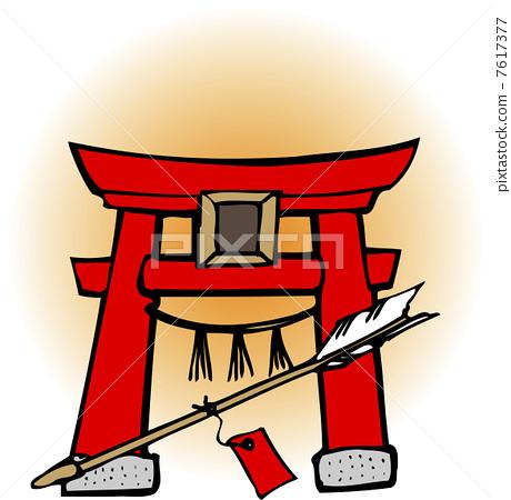 Torii and demon arrows 7617377