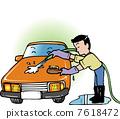 car, wash, carwash 7618472