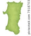 Map of Akita Prefecture 7618703