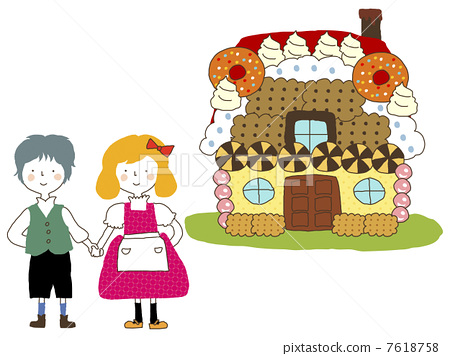 house of sweets hansel and gretel grimm s fairy tales stock rh pixtastock com Hansel and Gretel Story Printable Hansel and Gretel Drawings