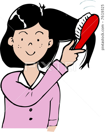 To comb my hair 7619325