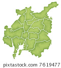 Nagoya city boundary map 7619477