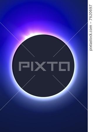 A total solar eclipse image 7620697