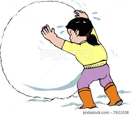 Building a Snowman 7621038