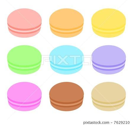 macaron, macaroon, type 7629210