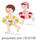 Floating wheel sea pool Child 7632745